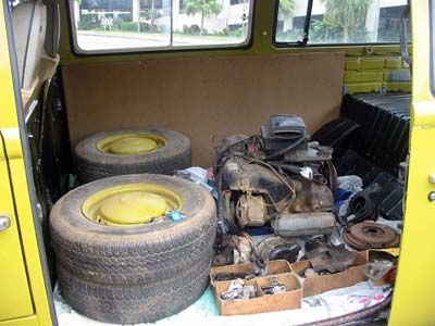 Spare parts for oour kombi