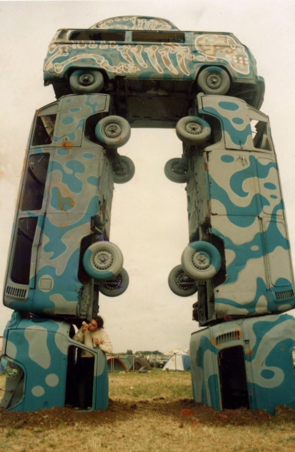 Pictures From Beetle Bash And Bug Jam 90s > Dubhenge Complete With
