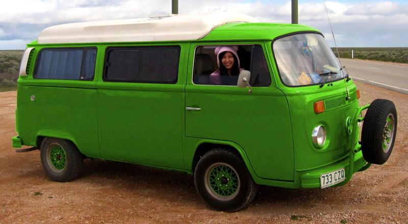volkswagen combi van. Aussie VW Kombi camper van