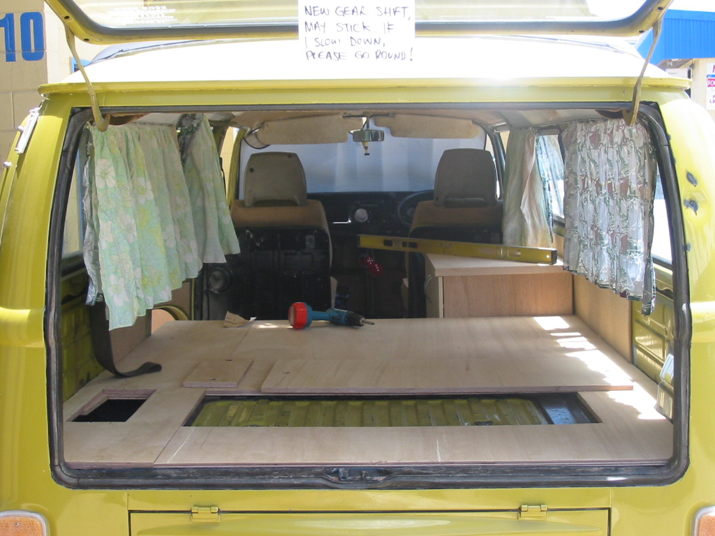 Details about our aussie vw kombi camper van or as much for Vw kombi interior designs