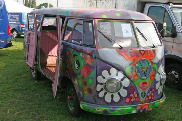 Hippy bus!